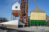 Сушилка зерновая шахтная