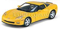 2007 Chevrolet Corvette Z06 Металлическая инерционная модель авто