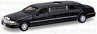 1999 Lincoln Town Car Stretch Limousine Металлическая инерционная модель авто