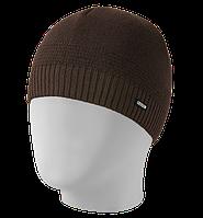 Шапка мужская вязаная Oxygon Smart коричневый