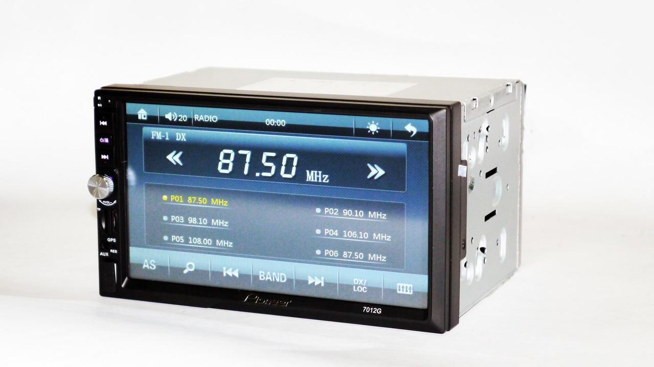 2din автомагнитола Pioneer 7012G GPS Навигация