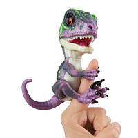 WowWee Fingerlings Интерактивный ручной динозавр Razor Baby Dinosaur Untamed Raptor Interactive