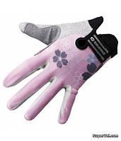 Перчатки женские Exustar CG530, L, розовые