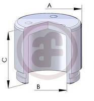 Поршень  переднего  Суппорта  ф 60 мм
