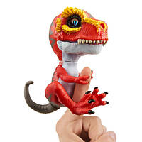 WowWee Fingerlings Интерактивный ручной динозавр Ripsaw Baby Dinosaur Untamed Raptor Interactive