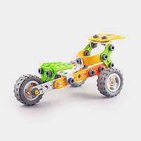 Детский мягкий конструктор Keedo Мотоцикл 74 детали (6-J-7705)