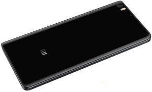 Задняя крышка Xiaomi Mi5 черная стекло (HQ)