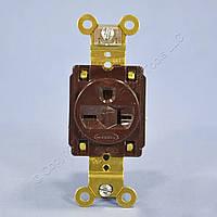 Промышленная 20-ти амперная розетка американского стандарта Hubbell 20A 250V HBL5461, фото 1