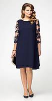 Платье Panda-396883 белорусский трикотаж, синий, 56