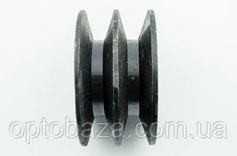 Шкив 2 ручейный (тип 2) для мотопомп (13 л.с.), фото 2