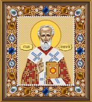 Набор для вышивки бисером икона Святой Григорий Богослов
