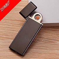 Зажигалка подарочная USB тонкая, фото 1