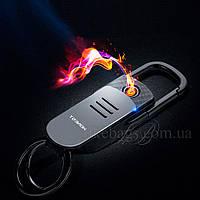 Зажигалка брелок USB в подарочной упаковке, фото 1