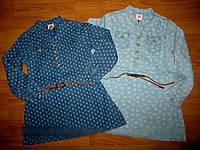 Джинсовая рубашка для девочек Glo-story 122рр.