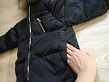 Пуховик детский черный, фото 3