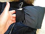 Пуховик детский черный, фото 4