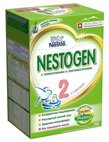 Сухая детская молочная смесь Nestogen (Нестожен) 2 700 гр