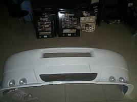 Накладка на передний бампер (под покраску) - Iveco Daily 1999-2006 гг.