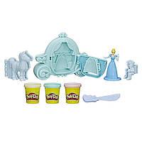 Игровой набор Карета Золушки Play-Doh Royal Carriage Featuring Disney Princess Cinderella, фото 1