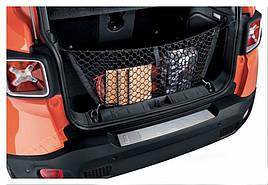 Накладка на задний бампер (нерж) - Jeep Renegade