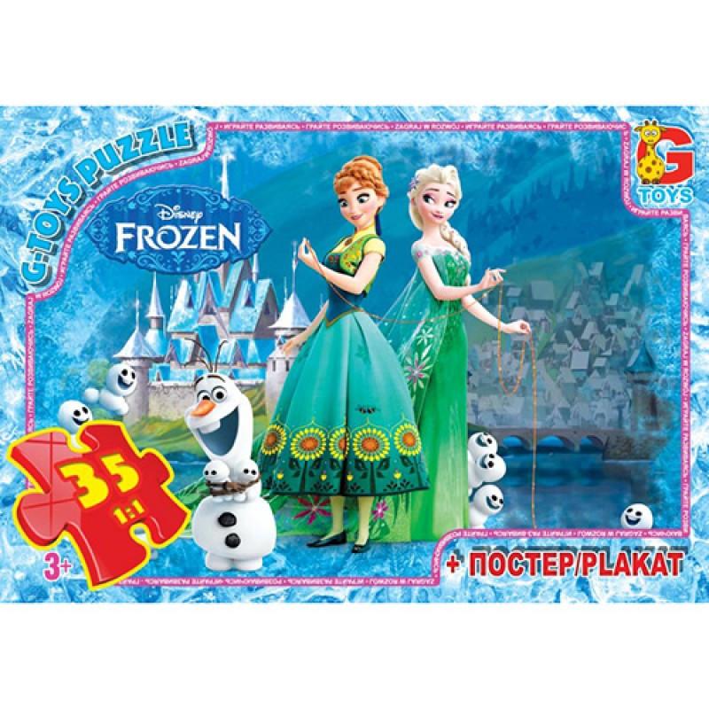 """Пазлы G-Toys из серии """"Frouzen"""" (Льодяне Сердце), 35 ел., FR006"""