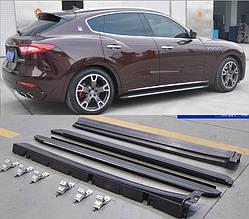 Боковые подножки OEM (2 шт) - Maserati Levante