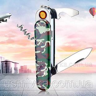 Зажигалка подарочная USB модная 33268
