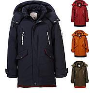 Куртка на меховой подкладке на мальчиков  110 /160 см