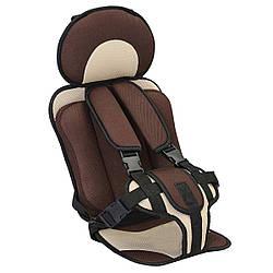 Детское бескаркасное автокресло Child Car Seat Brown