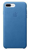 "Накладка iPhone 7+ ""Leather Case"" Фиолетовая, фото 2"