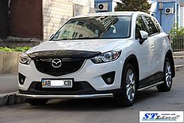 Передняя защита ST008 (нерж) - Mazda CX-3 2015+ гг.