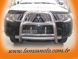 Кенгурятник WT018 (нерж.) - Mitsubishi L200 2006-2015 рр.