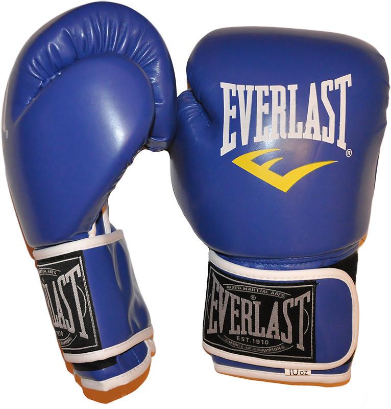Детские боксерские перчатки в стиле EVERLAST BO-3987-8B   размер 8 унц.