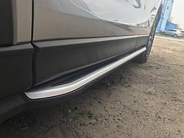 Боковые пороги оригинал (2 шт) - Mazda CX-5 2017+ гг.