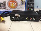 ТЮНЕР Т2 цифрового телевидения DVB-T2 TERRESTRIAL Цифровой тюнер для  цифрового ТВ приставка для телевизора, фото 3