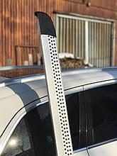 Боковые площадки Maya V2 (2 шт., алюминий) - Mazda BT-50 2012+ гг.