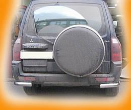 Задня дуга AK003 (нерж.) - Mitsubishi Pajero Wagon III