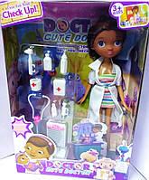 Кукла Доктор Плюшева с аксессуарами