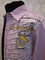 Детская рубашка для мальчиков 86,92,98,104 роста с налокотниками