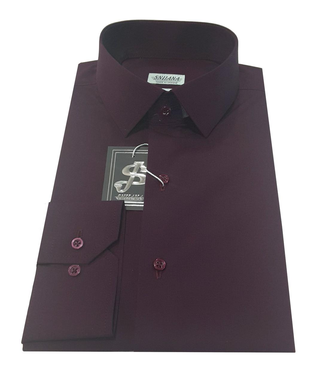 Рубашка мужская приталенная №10-12 - Filafil - Е