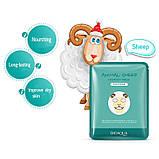 Питательная тканевая маска для лица с принтом Овечка BIOAQUA Animal Sheep Nourish Mask, фото 3