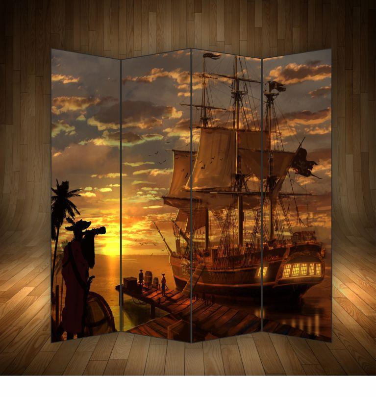 """Ширма декоративна """" Піратський корабель"""""""