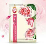 Тканевая маска для лица BioAqua с экстрактом розы  rose moisturizing mask 30g, фото 2
