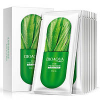 Ночная гелевая маска для лица с алое​​​​​​​ BIOAQUA Aloe Jelly Mask 8g, фото 1