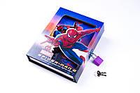 """Блокнот на замке в коробочке """"Человек-паук"""", №CH-64K-B0210, записная книжка, фото 1"""