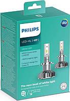 Автолампы PHILIPS LED H7 Ultion +160% 6200K 12V, 25W, PX26d