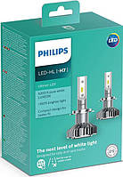 Автолампы PHILIPS LED H7 Ultion +160% 6200K 12V, 25W, PX26d