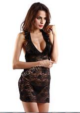 Прозрачное секси-платье, фото 3