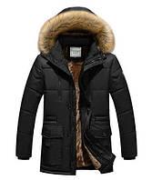 Зимняя куртка мужская черная