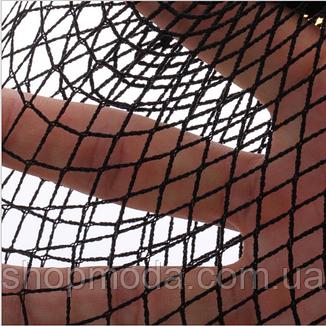 Чулки сеточкой черно-белые, фото 2
